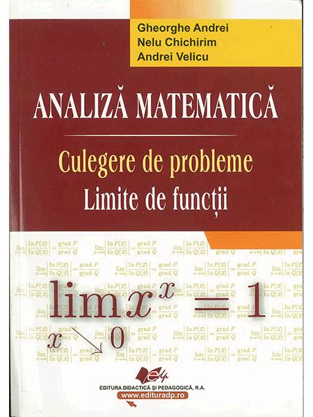 Analiza matematica. Limite de functii